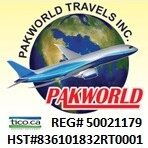 PAKWORLD TRAVELS INC